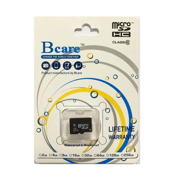 Bcare Micro SD- 2Gb - No Adaptor