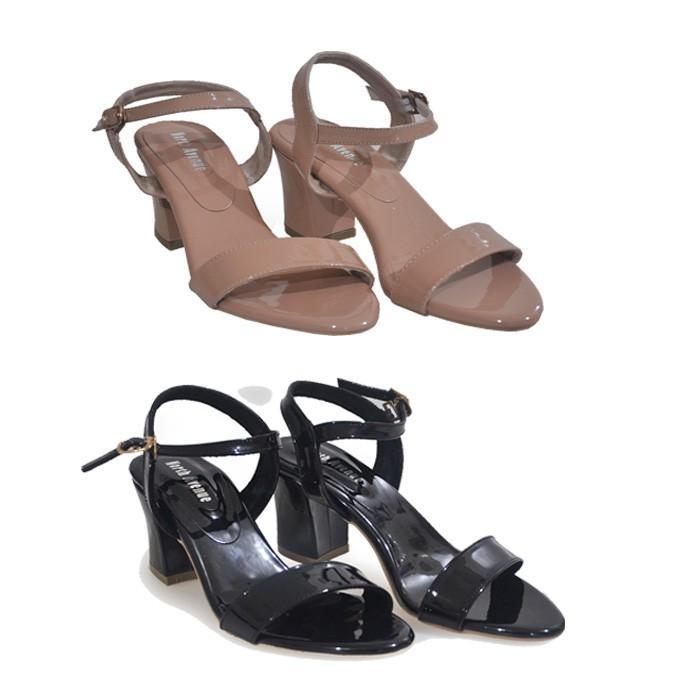 Sepatu Sandal Wanita Heels 8161 By North Avenue Variasi TAN 39