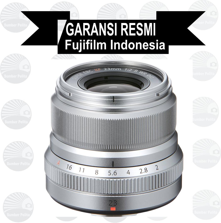 Jual Lensa Kamera Fujifilm Terlengkap X A5 Kit 15 45mm 35 56 Ois Pz Xf35mm F2 Silver Fujinon Xf 23 Mm F20 Wr