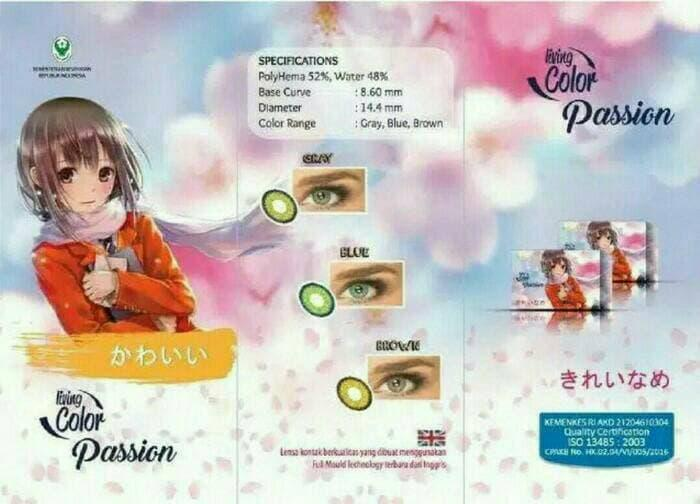 SALE - Softlens LC Passion / Living Color Passion