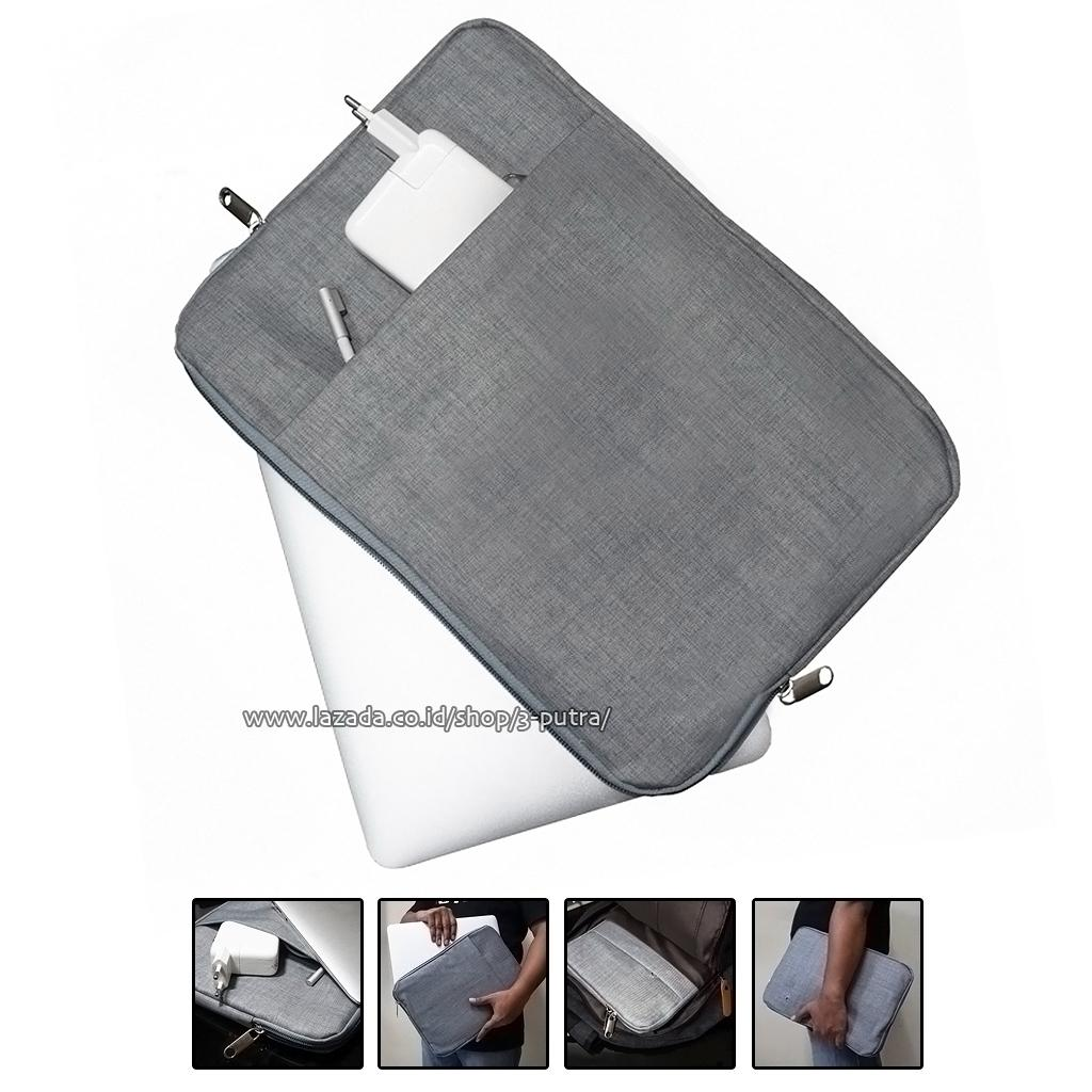 Sarung Laptop Sleeve Case Tas Laptop Softcase Laptop untuk Macbook Air  Macbook Pro Laptop Notebook Netbook cd434c95eb
