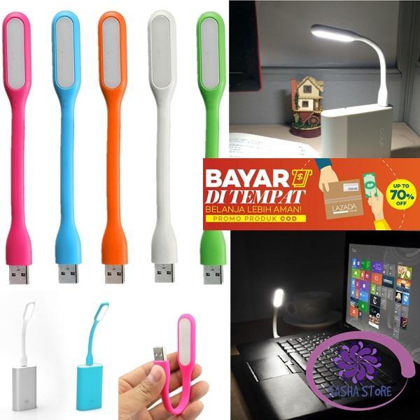 SS USB Light Lampu Sikat / Lampu Darurat / Lampu Emergency Flexible Portable Lamp Mini for