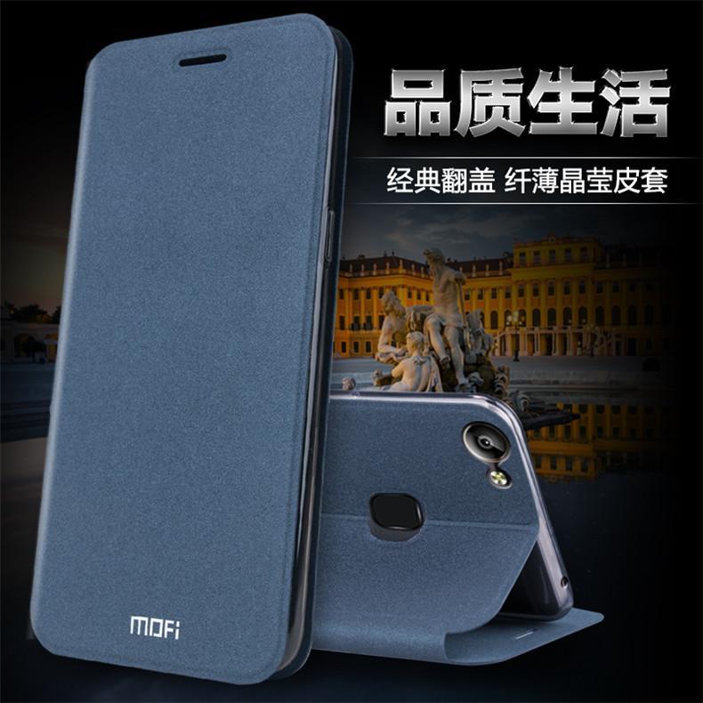 Mofi Duo Baru Golden Beach BBK Vivo V7 Plus Casing HP Silikon Lunak Y79 Model Buka