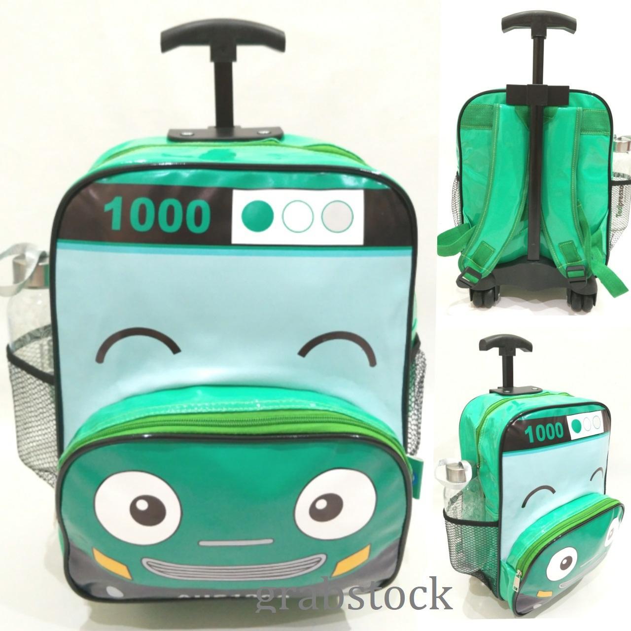 Onlan Thomas Trolley Anak Sekolah Tk Atau Play Group Bahan Kain Tas Ransel Paut Bus Tayo Sponge Mini Anti Air Troli Untuk