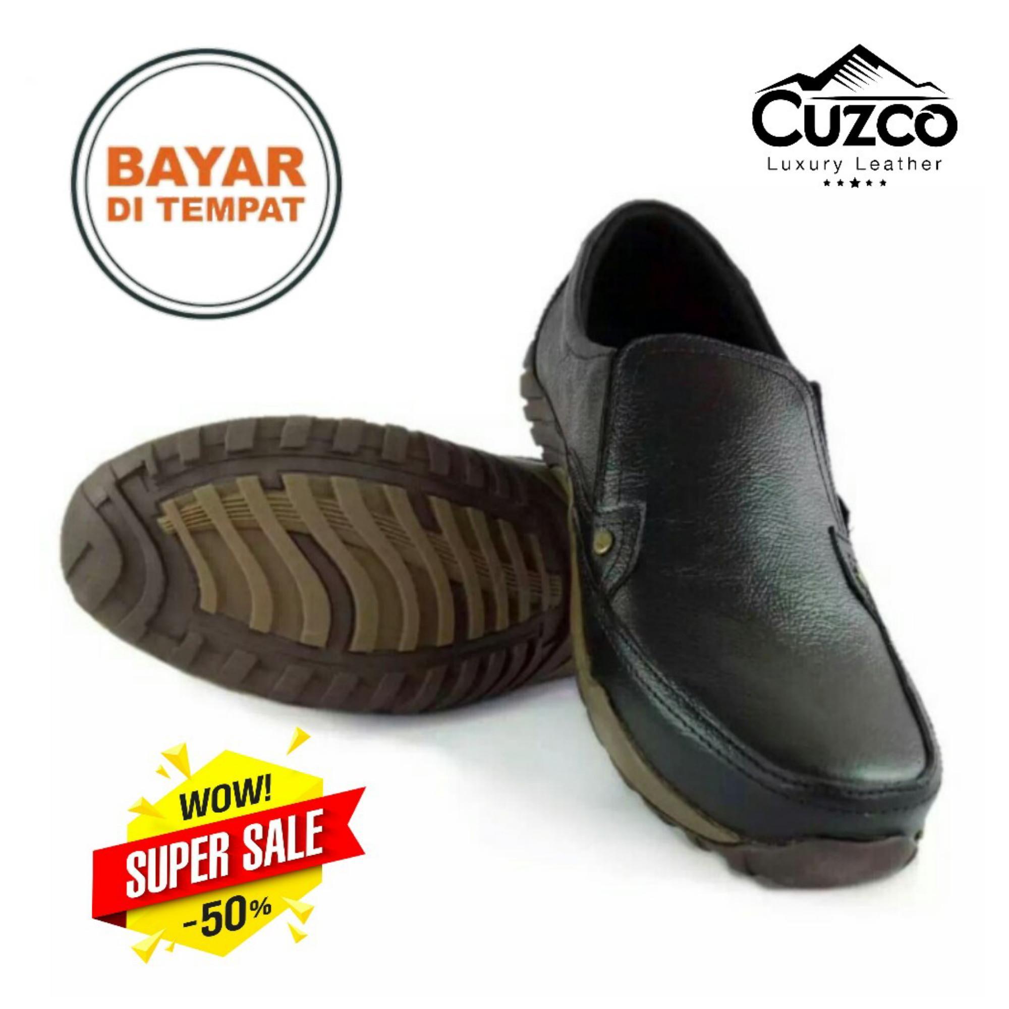 Sepatu Pria Kulit Asli Casual Formal / Sepatu Kulit Asli Pria Kasual / Sepatu Pria Kulit