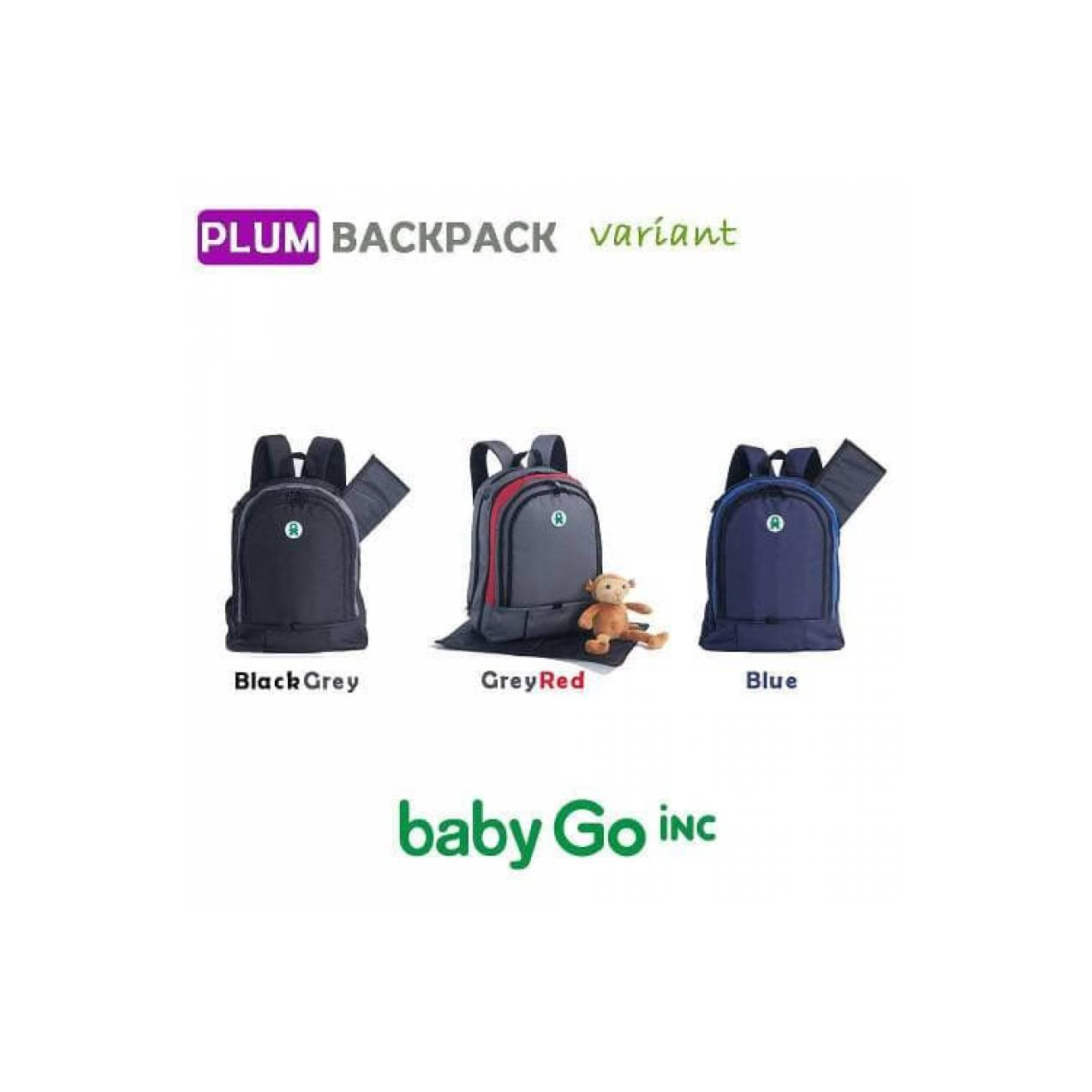 Buy Sell Cheapest Babygoinc Hang Go Best Quality Product Deals Babygo Inc Metro Backpack Blue Plum Diaper Tas Bayi Baby