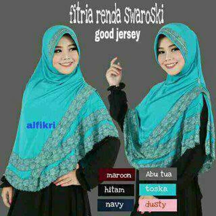 hijab / Jilbab instan / kerudung / bergo FITRIA RENDA SWAROSKY