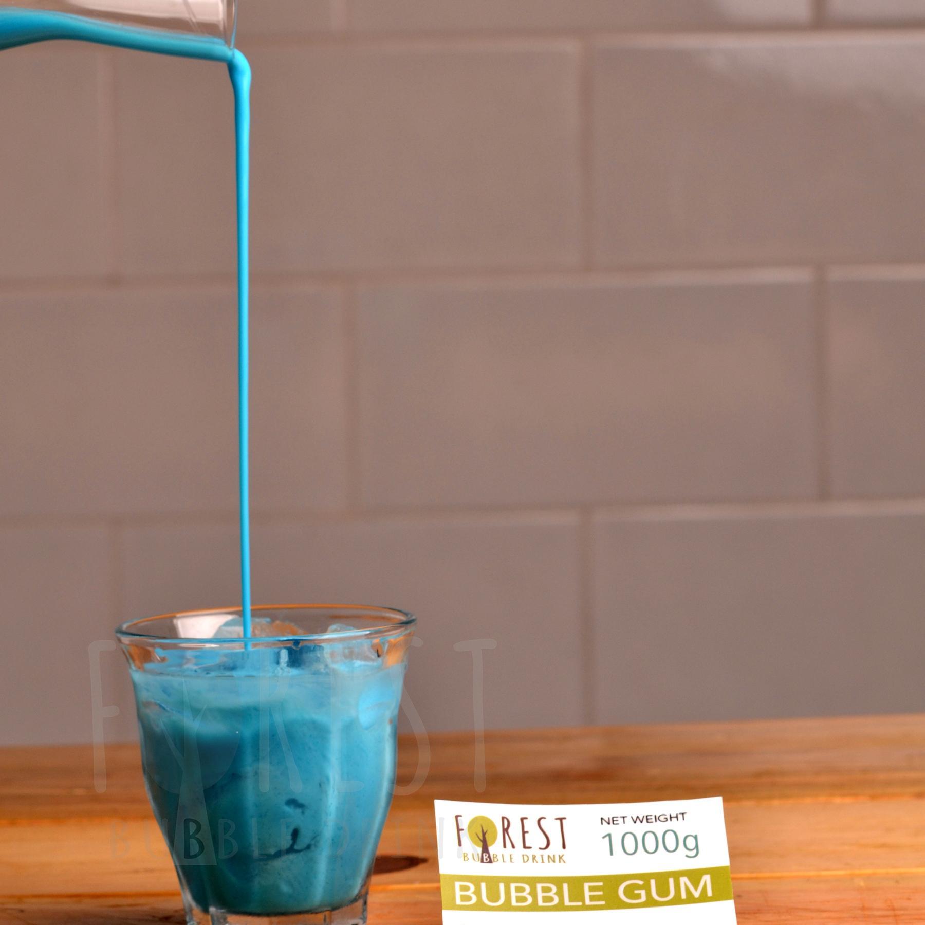 Bubuk Minuman BUBBLE GUM Powder 1000g - Forest Bubble Drink