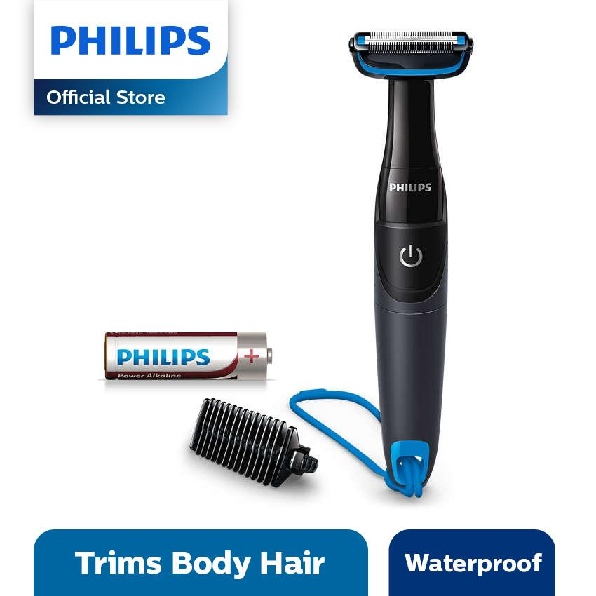 Philips Bodygroom Series 1000 BG1024 Pencukur - Hitam-Biru 06716a8369