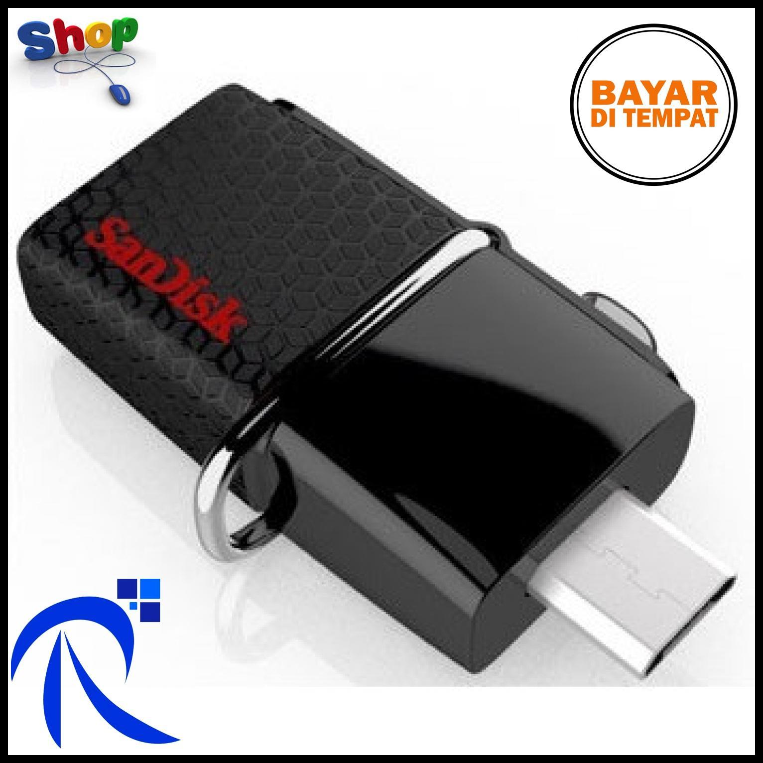Buy Sell Cheapest Diskon10 Flashdrive Sandisk Best Quality Product Cruzer Blade Cz50 64gb Usb Flash Drive Garansi Resmi Ultra Dual Otg 30 32gb Sddd2 032g Black