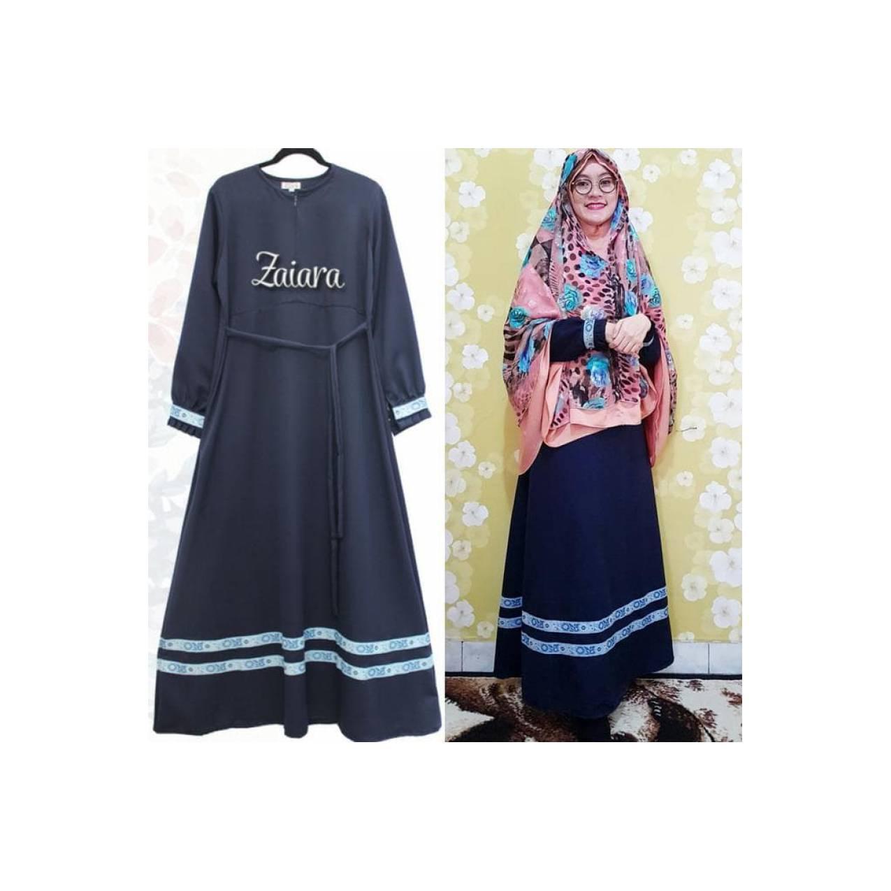 abaya zaiara gamis syari baloteli murah dressmenyusui/baju hamil/umroh