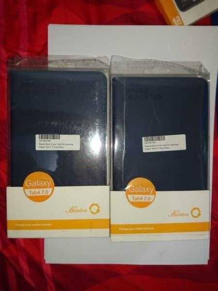 Case|Hanton Book Cover Samsung Galaxy Tab 3 7 Lite(Navy