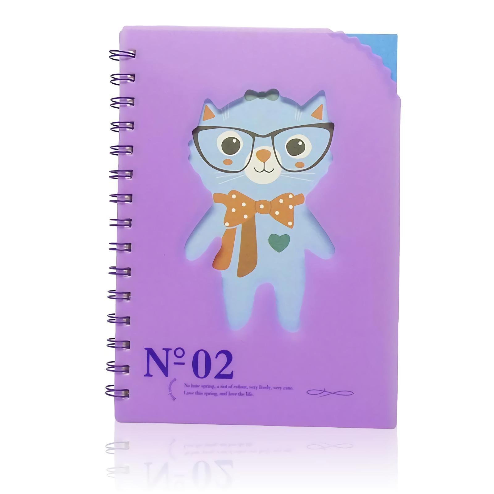 OHOME Buku Tulis [77 Lembar] Note Book Ukuran A5 Notebook Catatan MS-28825-40-NO-02 Ungu