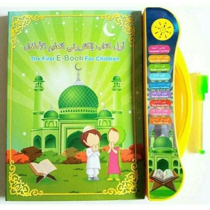 Playpad Ebook Muslim 3 in 1 Apple Quran Tablet Version Mainan Edukasi Anak E-Book Ebook Muslim Isla