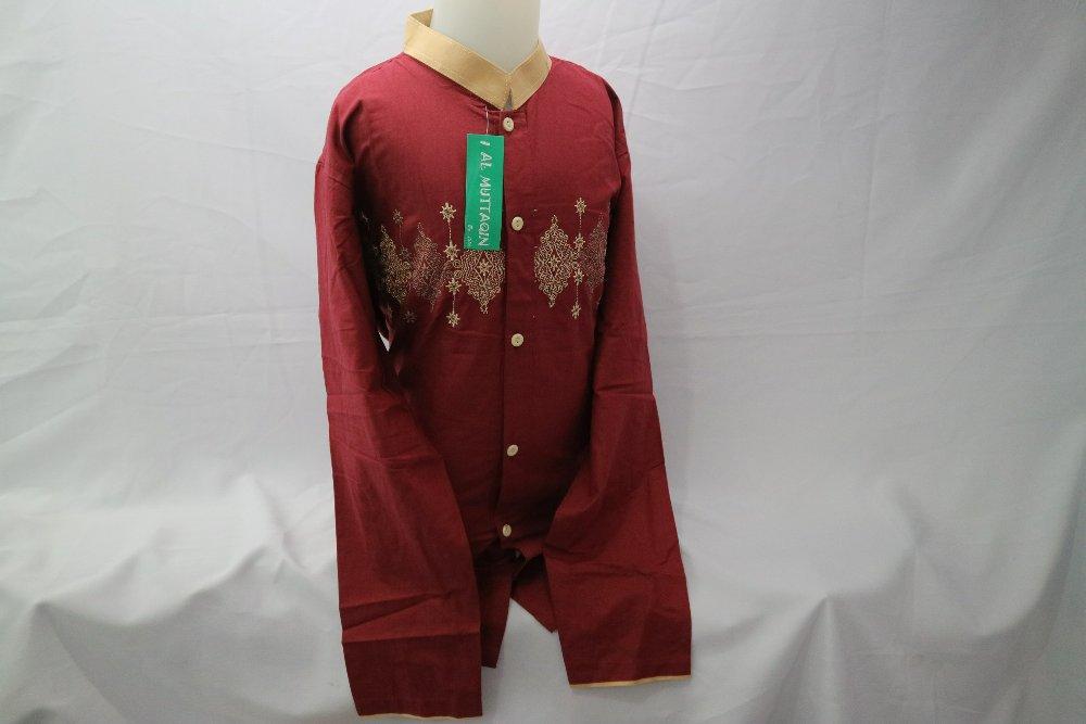 Baju Koko Anak Muslim Bordir Lengan Panjang Gamis Anak Laki - laki Pasar Tanah Abang Jakarta Murah LKT 042 di lapak Al Muttaqin Collection produsenbajukoko
