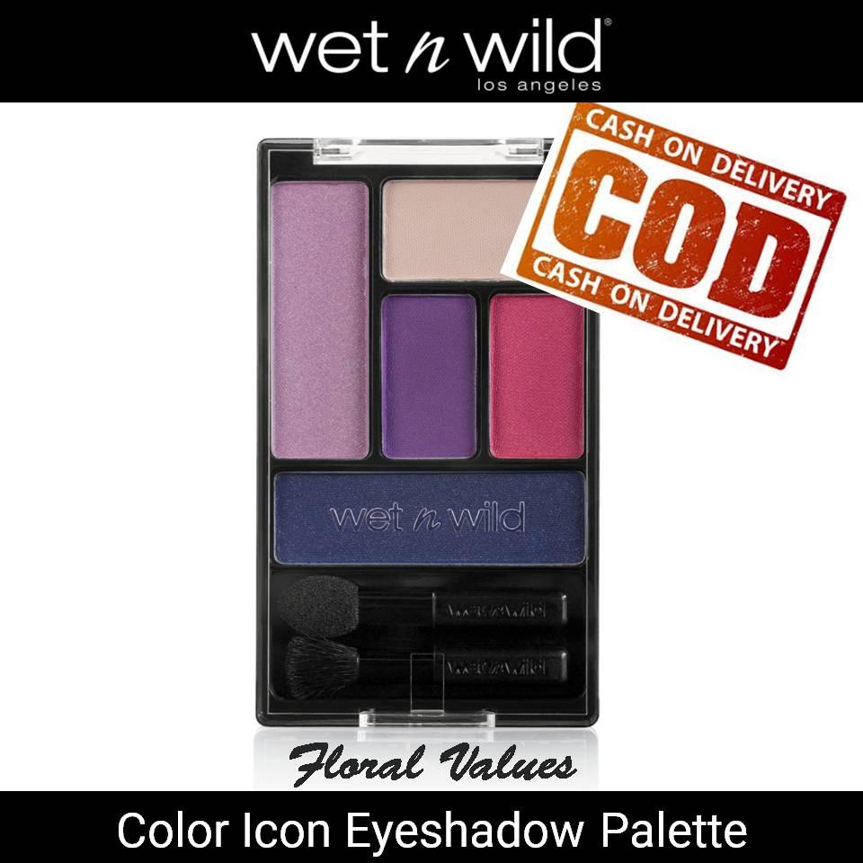 Wet n Wild Floral Values Color Icon Eye Shadow Palette
