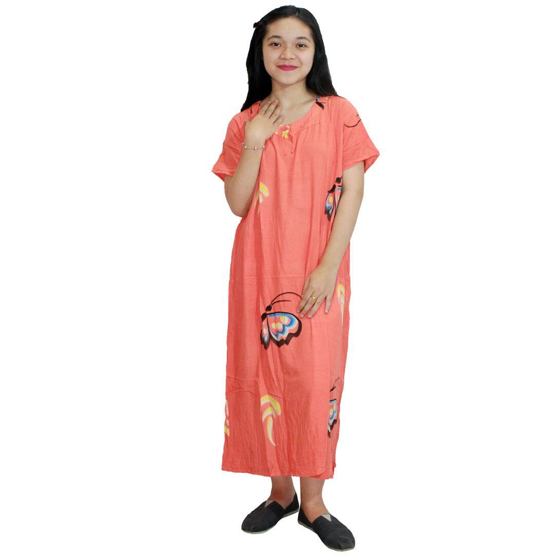 Daster Batik, Daster Lengan Pendek, Baju Tidur, Piyama, Pita (DPT001-116) Batikalhadi Online
