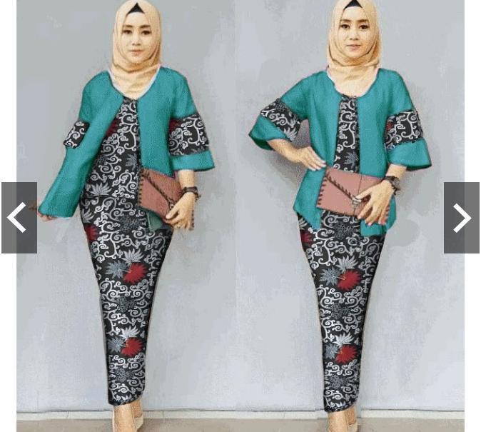d2d22919007dc953577462649474a062 10 List Harga Gaun Muslim Batik Pesta Termurah saat ini