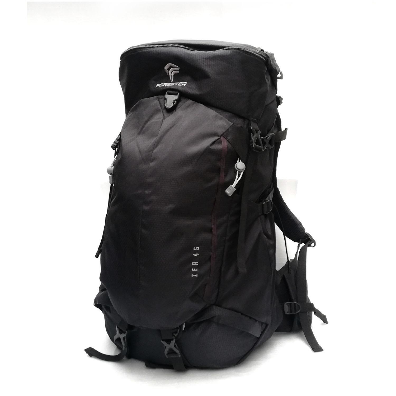 Forester Zea 60 - Hitam (Tas gunung/Carrier/Backpack)