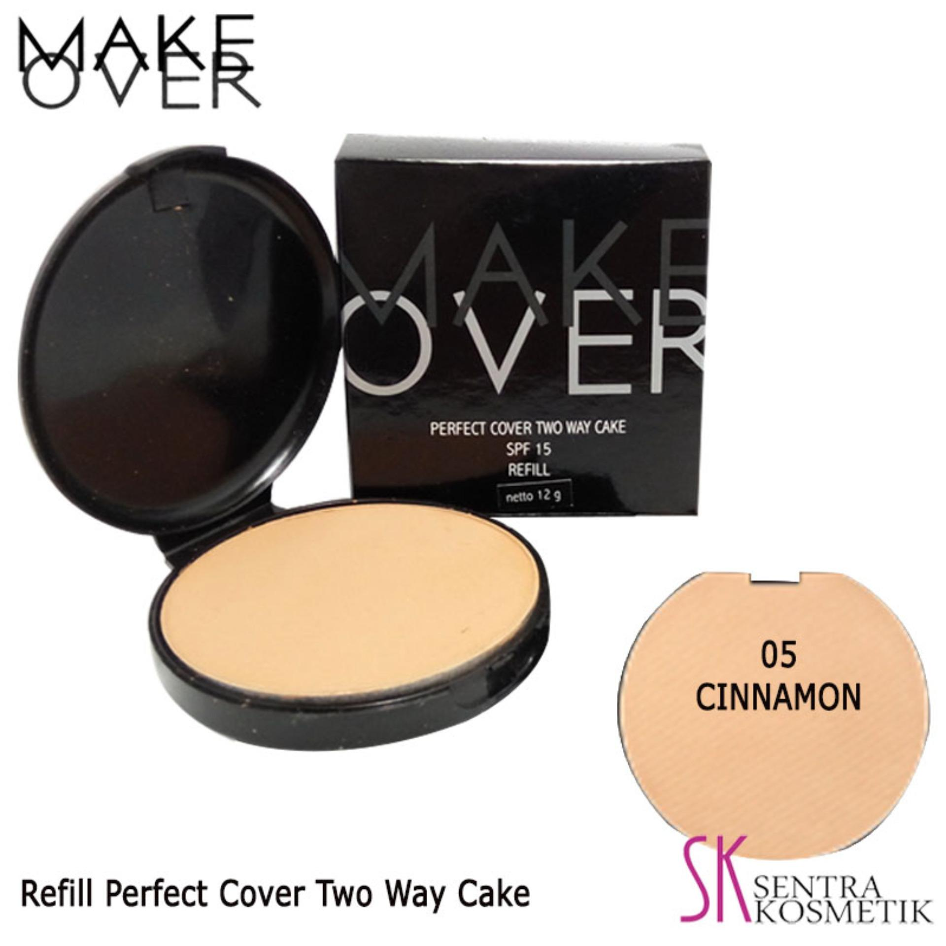 Buy Sell Cheapest His Way The Best Quality Product Deals Wardah Lightening Two Cake Light Feel Price Ever Make Over Perfect Cover Refill 05 Cinnamon