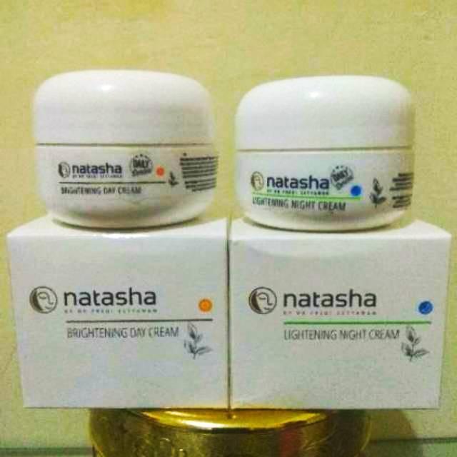 Paket Natasha for face Night & Day Cream By. dr. Fredy Setyawan