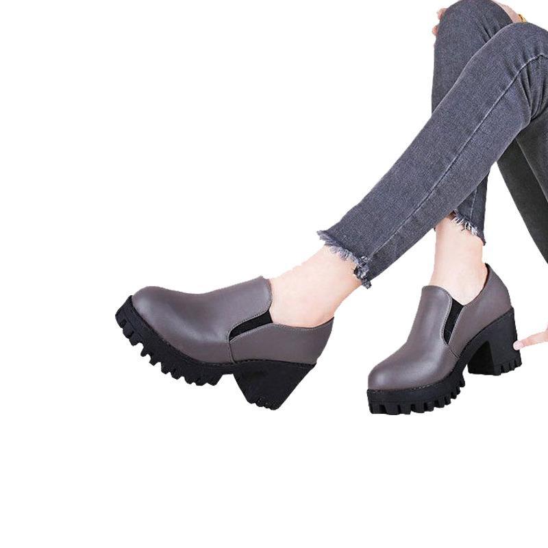 Slip on Boots wedges cewek korea BD03