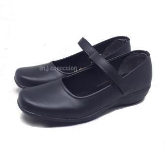 Pencarian Termurah SNJ KWL THP7000 Sepatu Pantofel Wanita Bertali Paskibra  Warna Hitam - Sepatu Formal Wanita fbd02e06b1