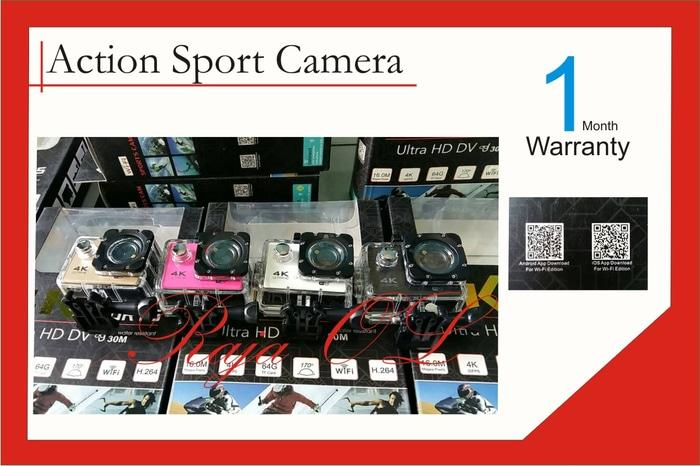 Action Camera 4K Wifi Ultra HD 16MP Terlaris di Lazada