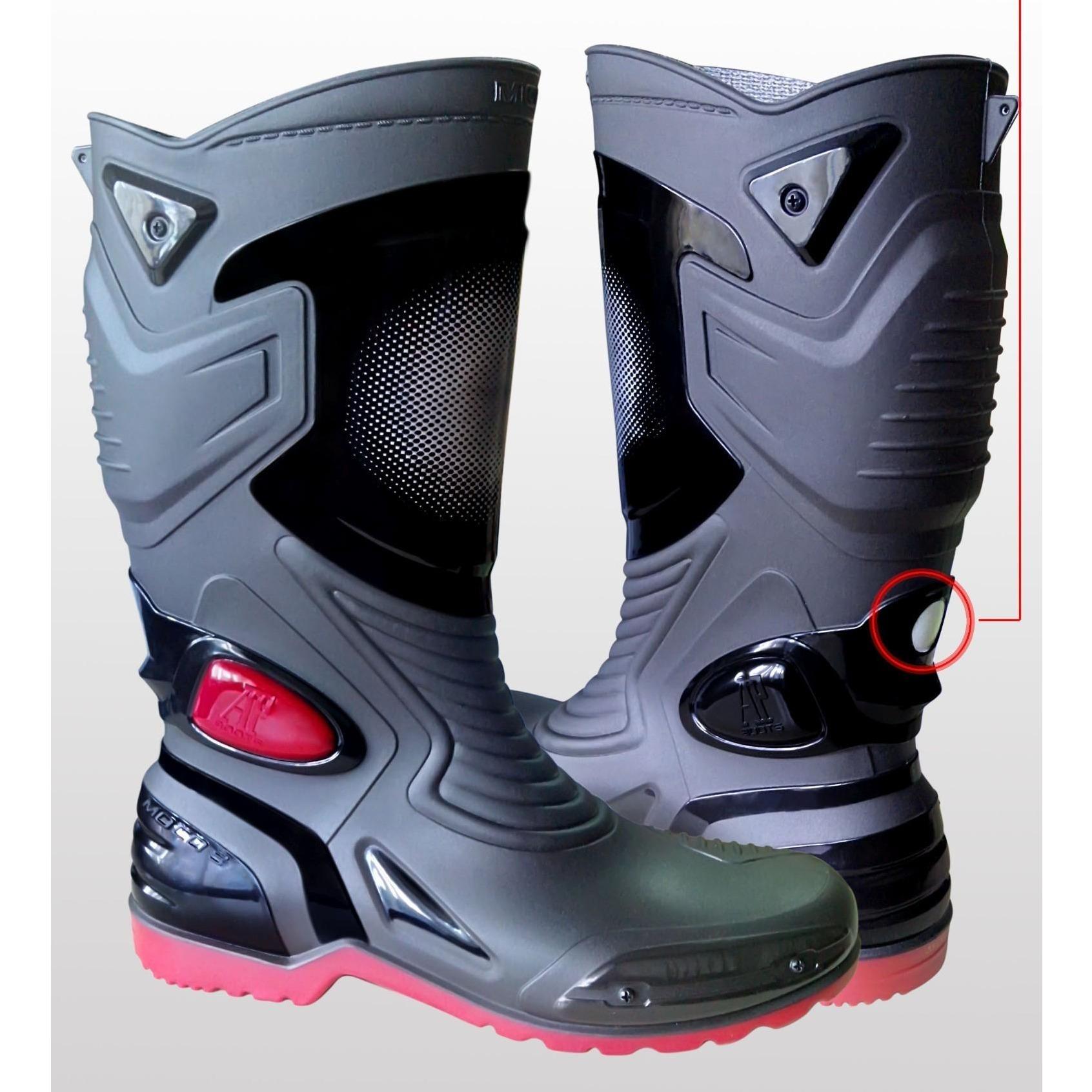 Sepatu Boots Pria AP Moto 3 boots Bikers