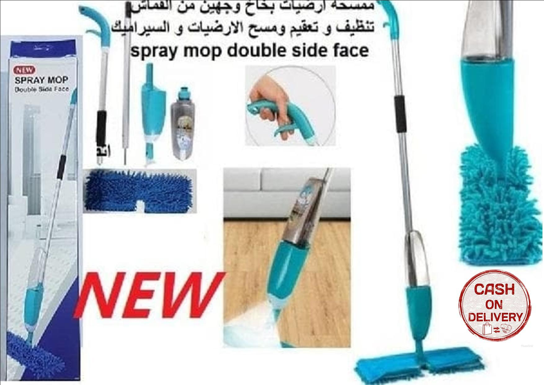 Buy Sell Cheapest Alat Pel Pembersih Best Quality Product Deals Spray Mop Lantai Semprot Sien Collection Gen 2 Double Side Face