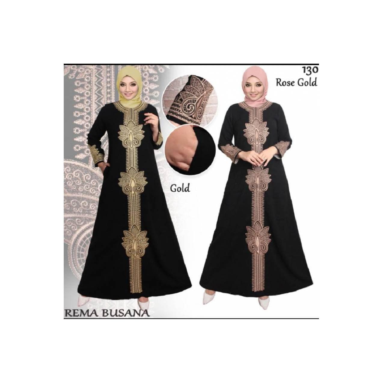 Best gamis abaya hitam arab khusus jumbo /PROMO RAMADHAN BERKAH