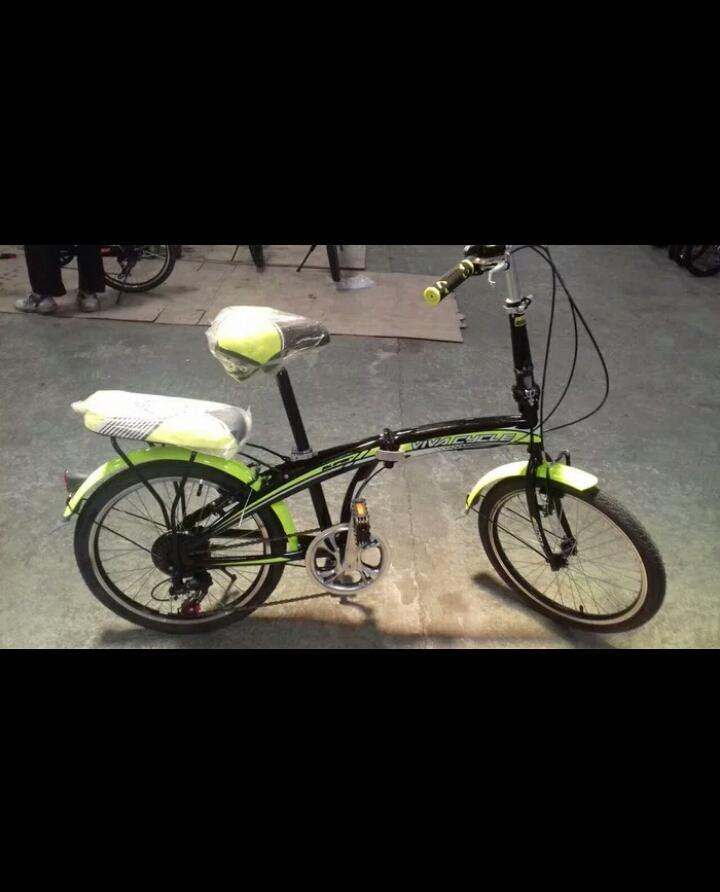 Sepeda lipat 20 viva sliper murah