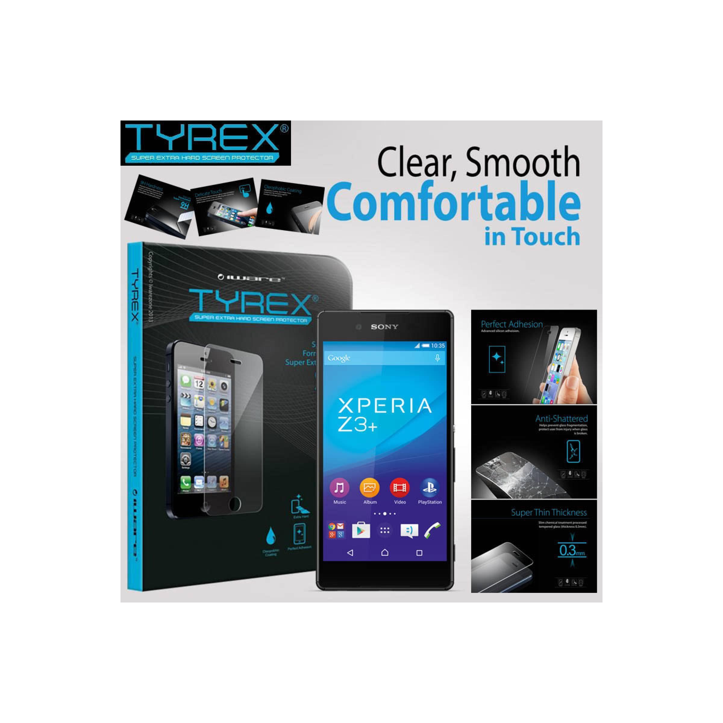 Jual Anti Gores Kaca Tyrex Tempered Glass Sony Xperia Z4 / Z3 Plus