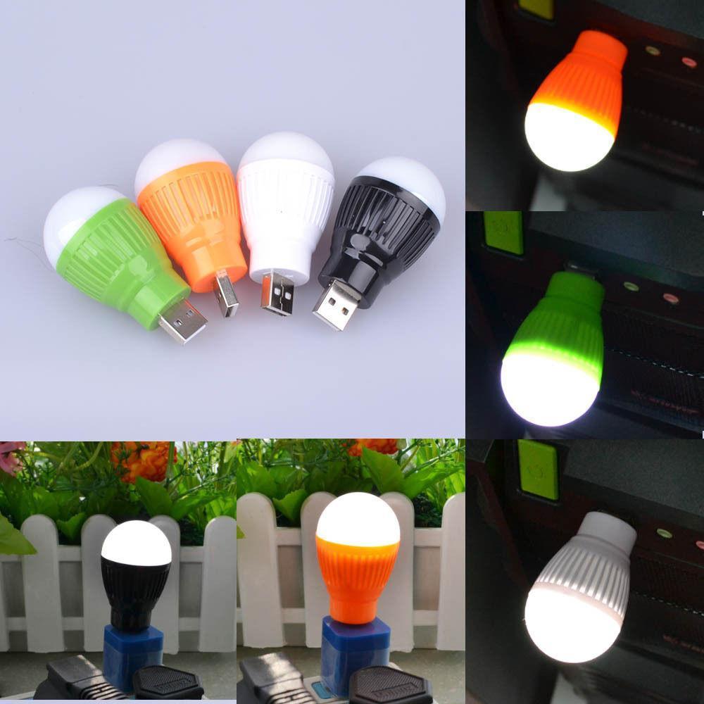 Promo Terbaru! Emergency Bohlam Mini USB LED Bulb BALL LIGHT lampu Powerbank Senter