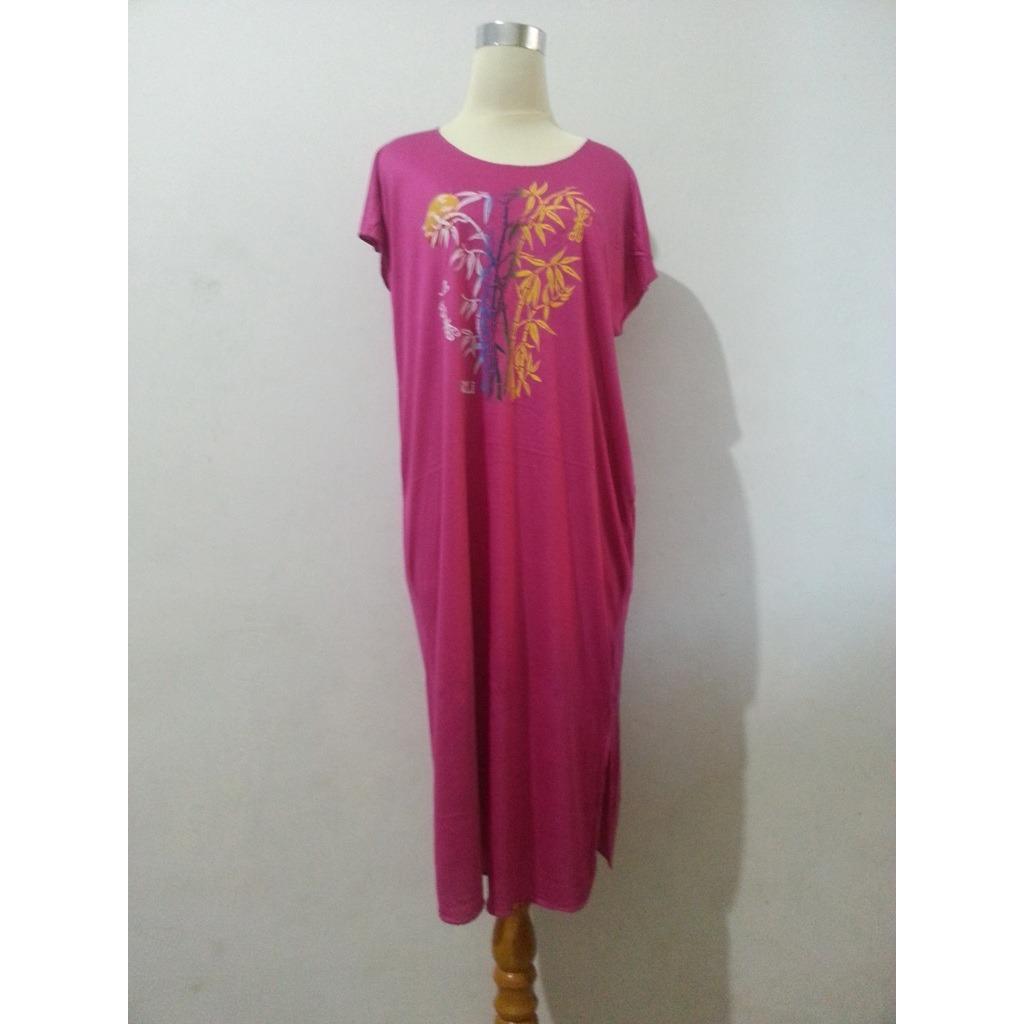 Baju Daster Bambu Bali Pjg Pink 2