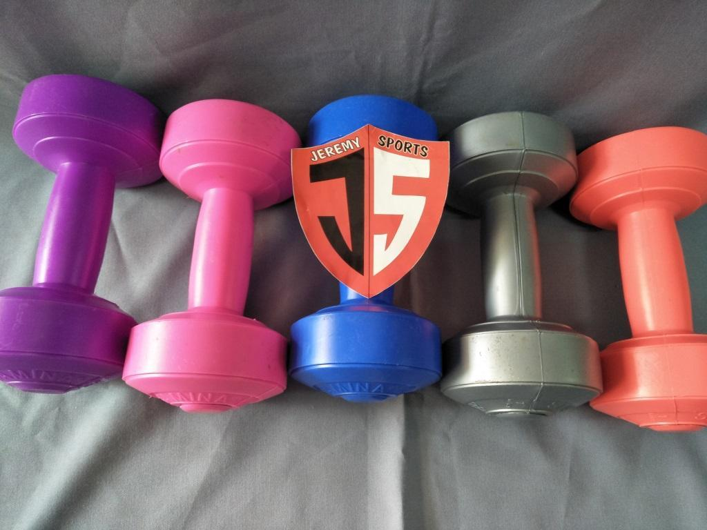 Peralatan Latihan Kardio Terlengkap Jogging Plate Magnetic Trimmer Alat Olahraga Portable Barbel Dumbel Fitness 2 Kg Awet Tahan Cuaca