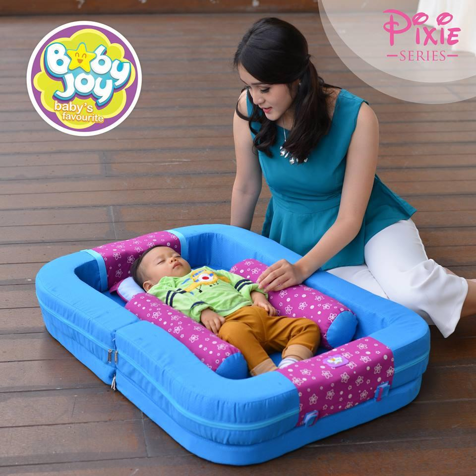 Baby Joy Kasur Bayi Multifungsi Plus Kelambu Pixie Series - BJK4008