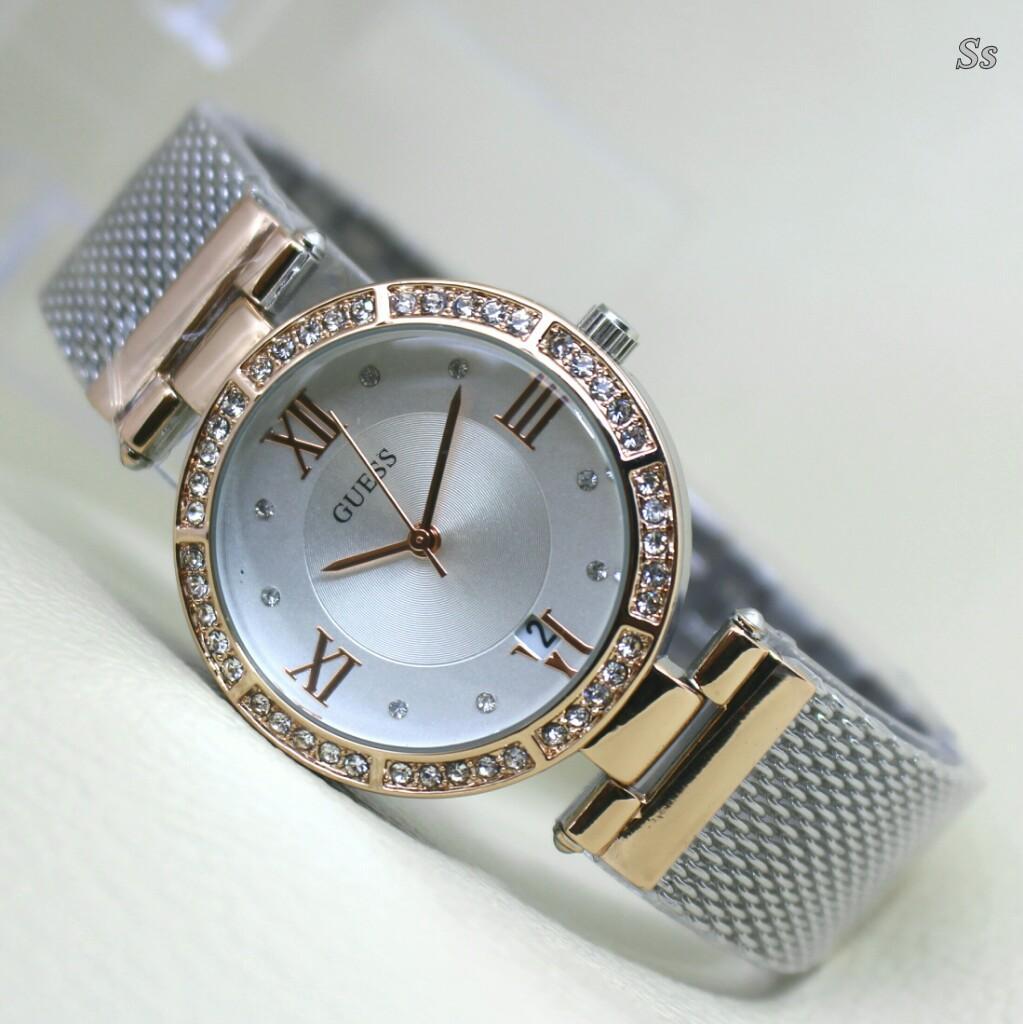 Guess Collection Gc Ladychic Y06009l7 Jam Tangan Wanita Stainless Rosegold Steel Unik Rose Gold Silverrantaiidr240000 Rp 300000