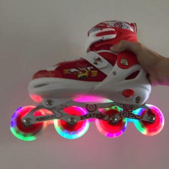 Pencarian Termurah Sepatu Roda Anak Power Inline Skate POWER SUPERB Model  BAJAJ semua roda nyala harga 4a5304bdb0