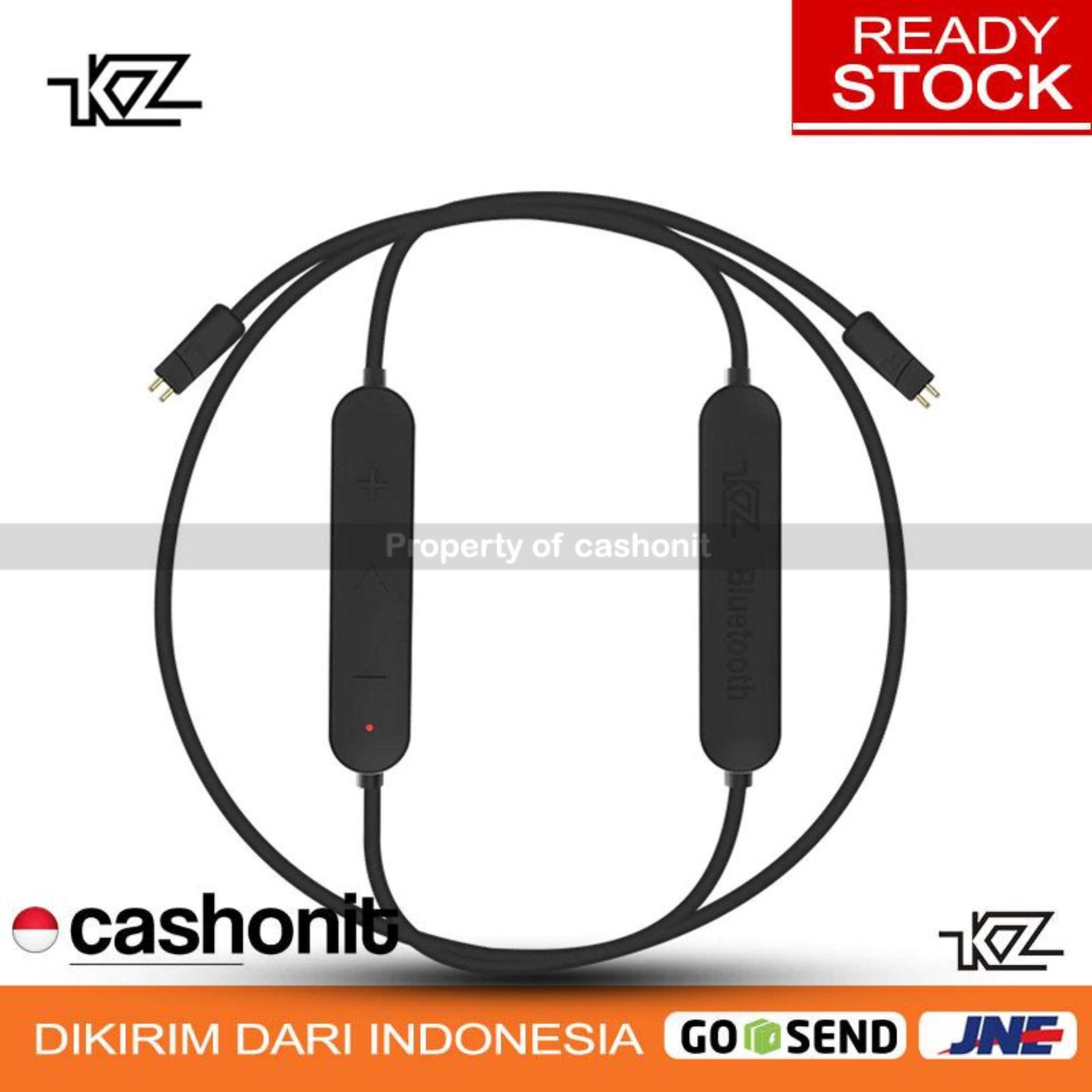 Knowledge Zenith Earphone With Mic Qkz S6 Kz Acoustics Original Aptx Kabel Bluetooth Untuk Zs3 Zs5 Zs6 Hitam