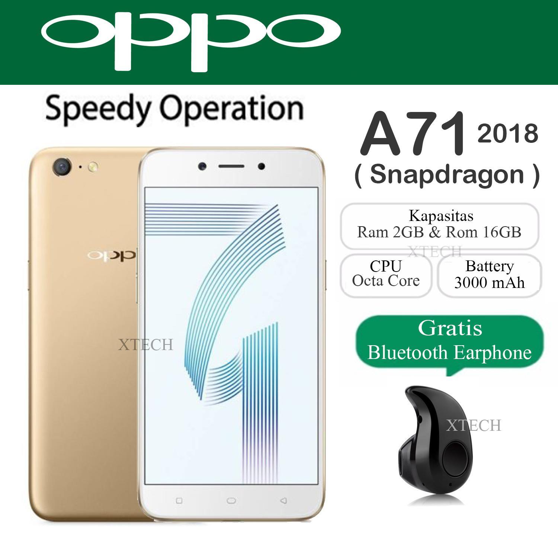 Oppo A71 Snapdragon 450 - Ram 2GB - Rom 16GB - Garansi Resmi