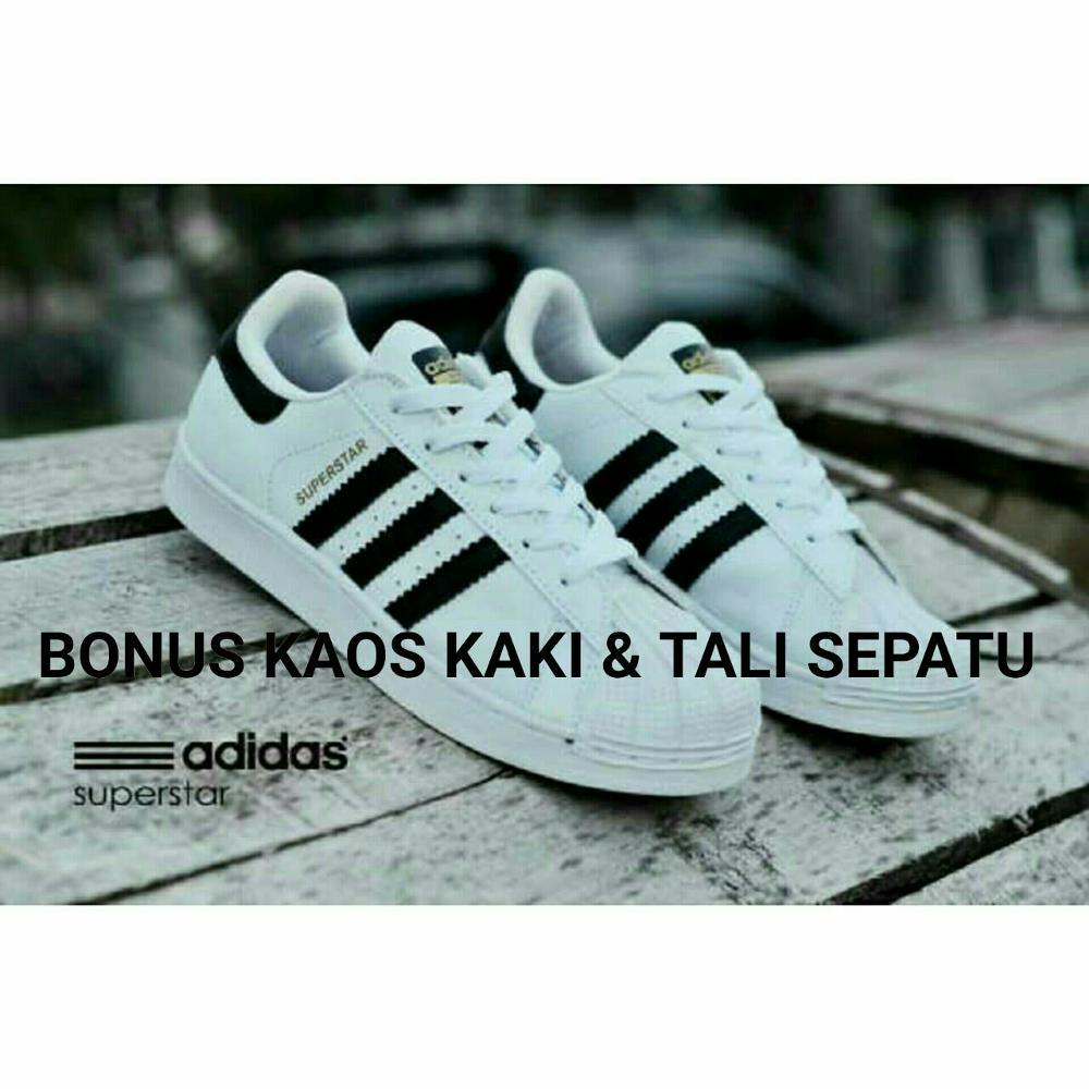 Jual sepatu casual BEST SELLER wanita adidas superstar low  Fashion