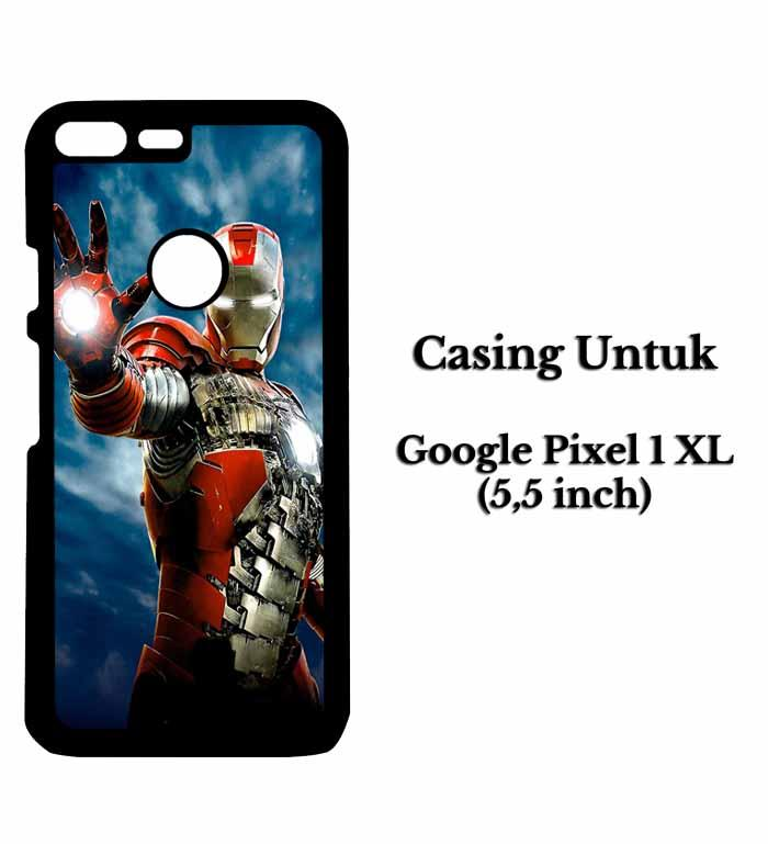 Casing HP GOOGLE PIXEL 1 XL iron man 2 comics Hardcase Custom Case Snitchshop