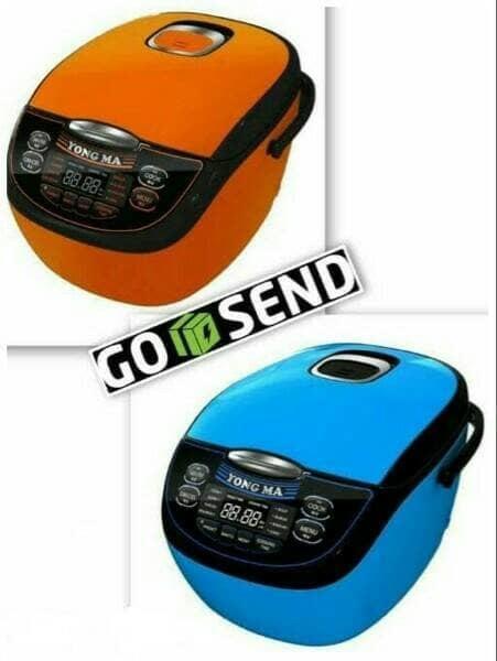 HOT PROMO!!! Yongma Magic Com Digital Eco Ceramic Tipe YMC-116C 2 liter - adtPbC