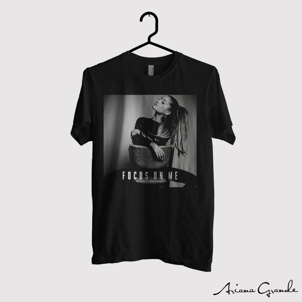 Kaos Ariana Grande Original Gildan - Focus