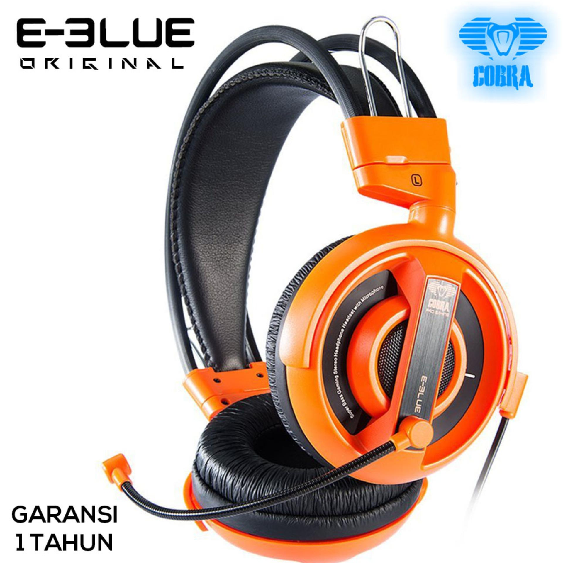 E-Blue Cobra Series Professional Gaming Headset  - EHS013 - Orange