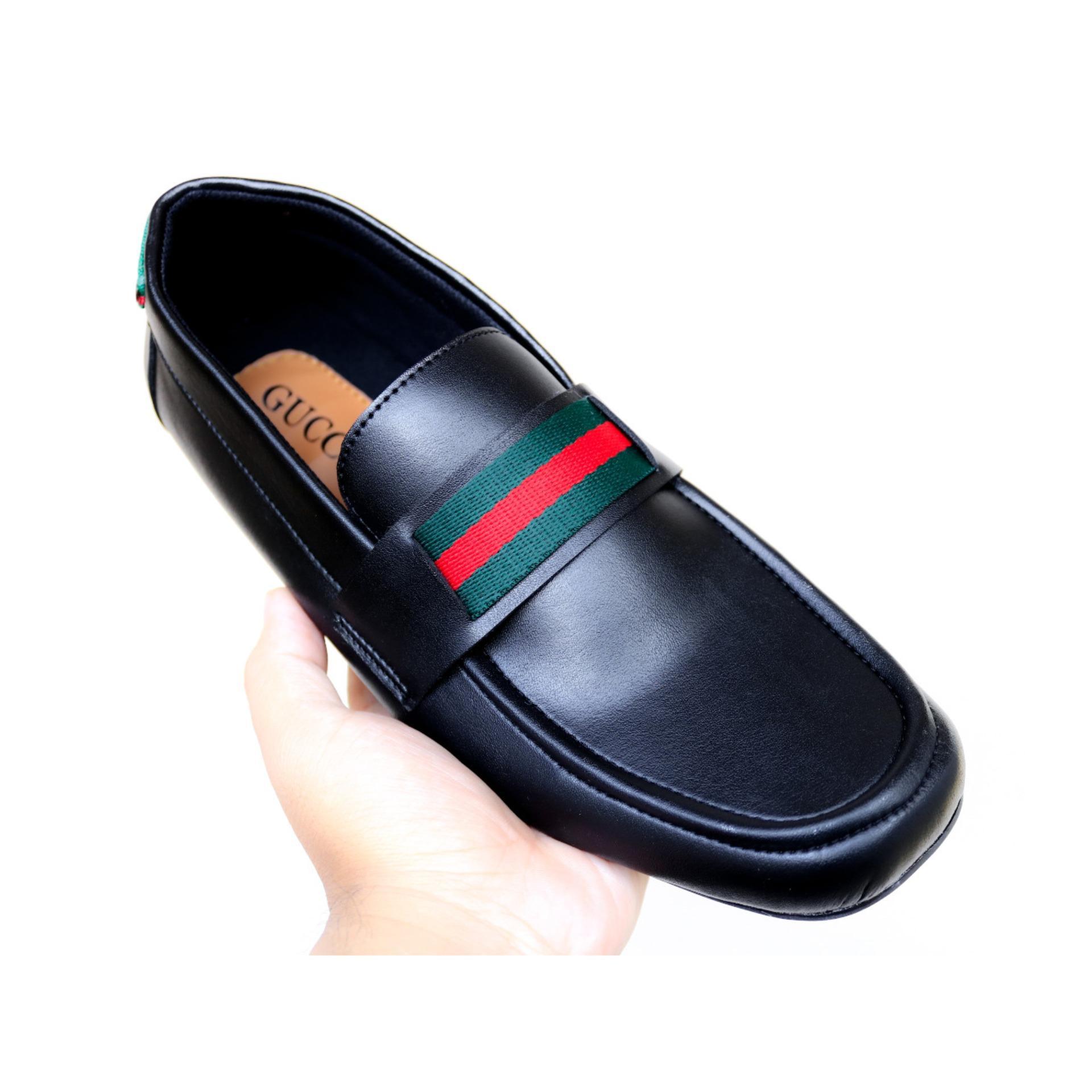 Sepatu kulit Slip-on (Guci) Pria dan Kasual Pria - Multi Polos (Lokal)