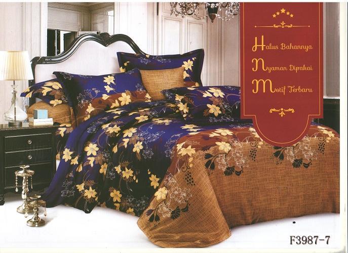 Viola  Bedcover Set Sprei Mirabilis 180 x 200cm