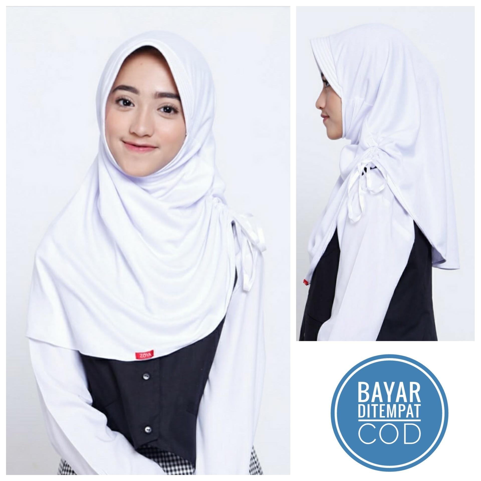 Jilbab Hijab Instan Kerudung Bergo Untuk Anak Remaja SMP