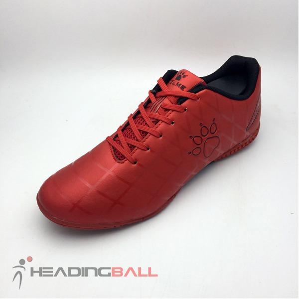 Sepatu Futsal Kelme Original Star 9 Red Black 5501-02 BNIB